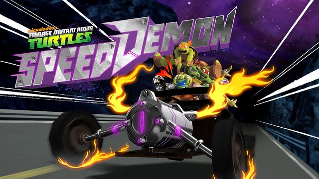 Teenage Mutant Ninja Turtles Speed Demon Racing
