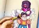 Desenhos para colorir Steven Universo