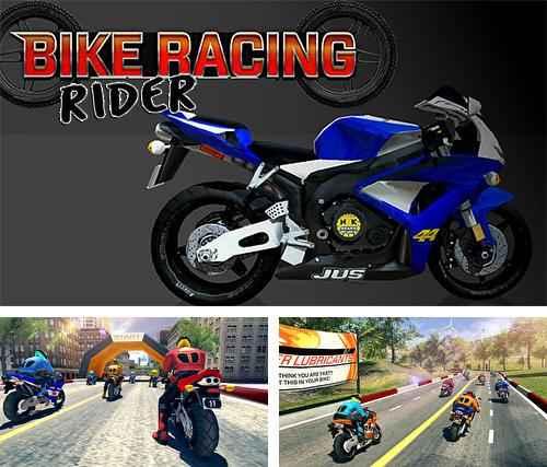 Bike racing rider