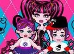 Monster High Draculaura Babá de dois Bebês