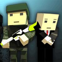Play Pixel 3D Warfare Multiplayer no Facebook