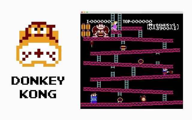 Jogar Donkey Kong Game Gratis Online