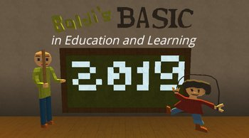 Kogama: baldi's basics education and learning