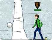 Ben 10 Guerra de Bolas de Neve