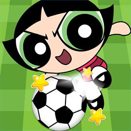 Cartoon Football Match
