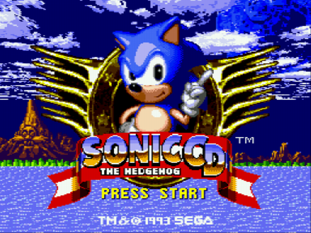 Sonic CD (european version)