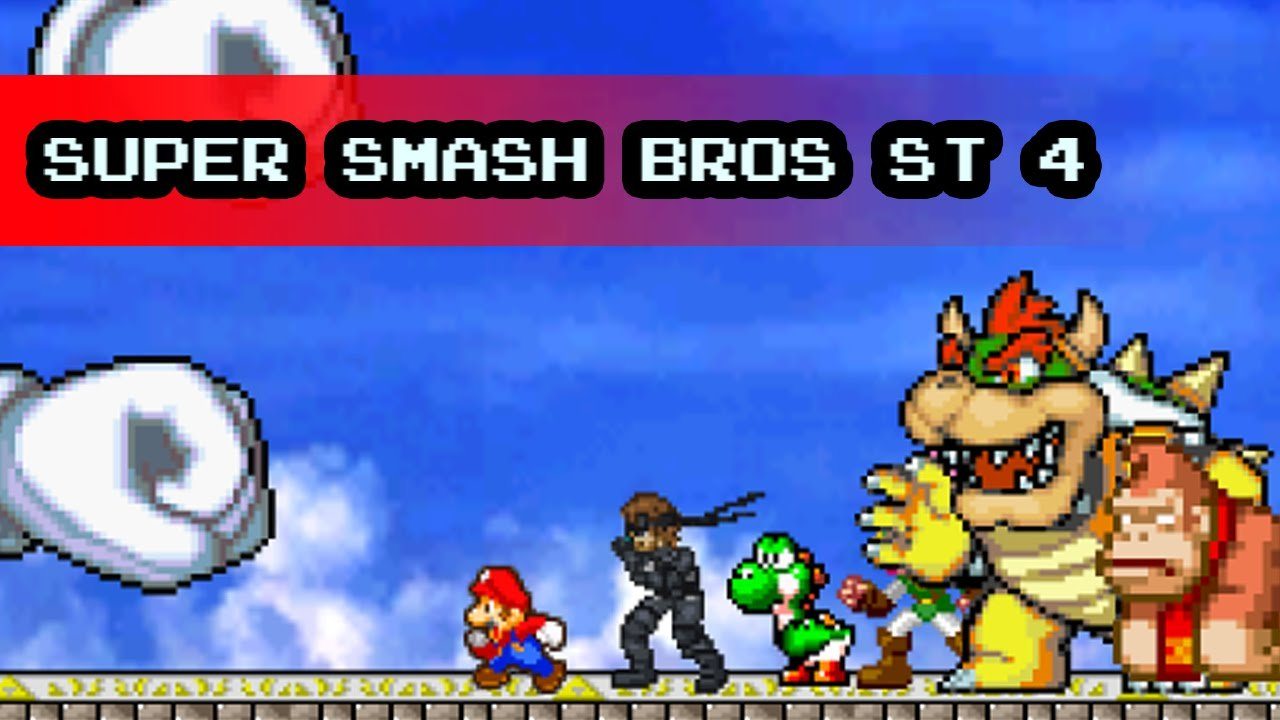 Super Smash Bros ST 4 online