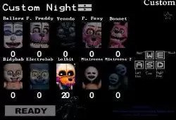 FNAF Custom Night