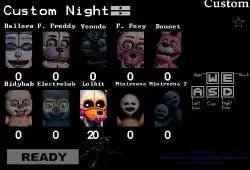 FNAF Custom Night