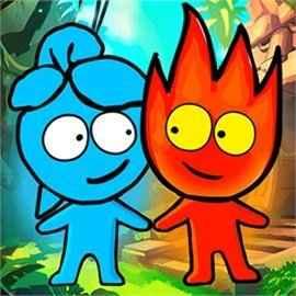 Jogar Redboy and Bluegirl: Temple Maze Gratis Online