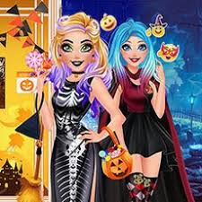 Jogar Barbie Halloween Trick Or Treat Gratis Online