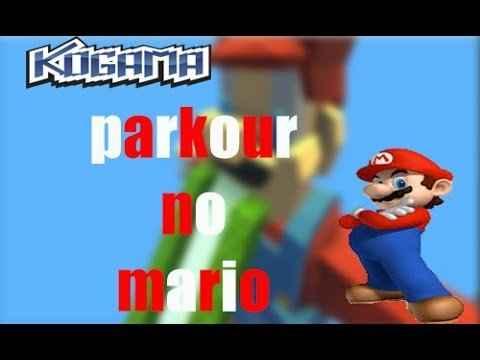 Parkour no Mario – Kogama