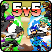 Jogar Liga do Ninja: Batalha de Moba Gratis Online