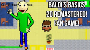 Baldi's 2D Basic In Education And Learning