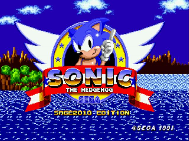 Sonic the Hedgehog 1 at SAGE 2010