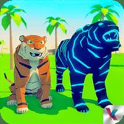Tigre simulador fantasia selva