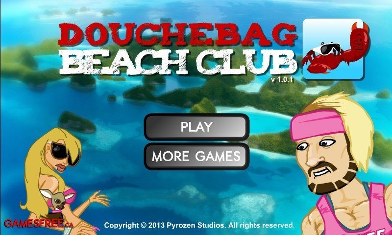 Douchebag Beach Club Hacked