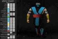 Criar personagens de Mortal Kombat