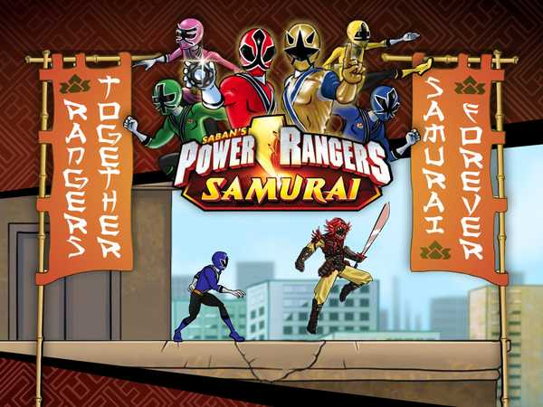 Power Rangers Samurai: Rangers Together, Samurai Forever!