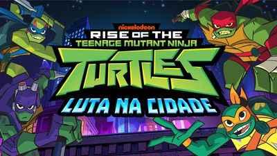 Tartarugas Ninja Luta na cidade