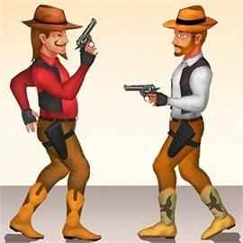 Gun Blood Cowboy Duel