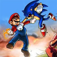 Mario Vs Sonic.Exe