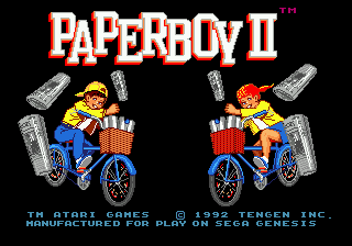 PaperBoy 2 | Super Nintendo