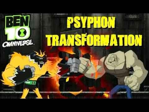 Ben 10 Omniverse: Psyphon Transformation