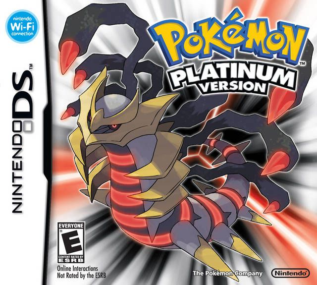 Pokemon – Platinum Version DS