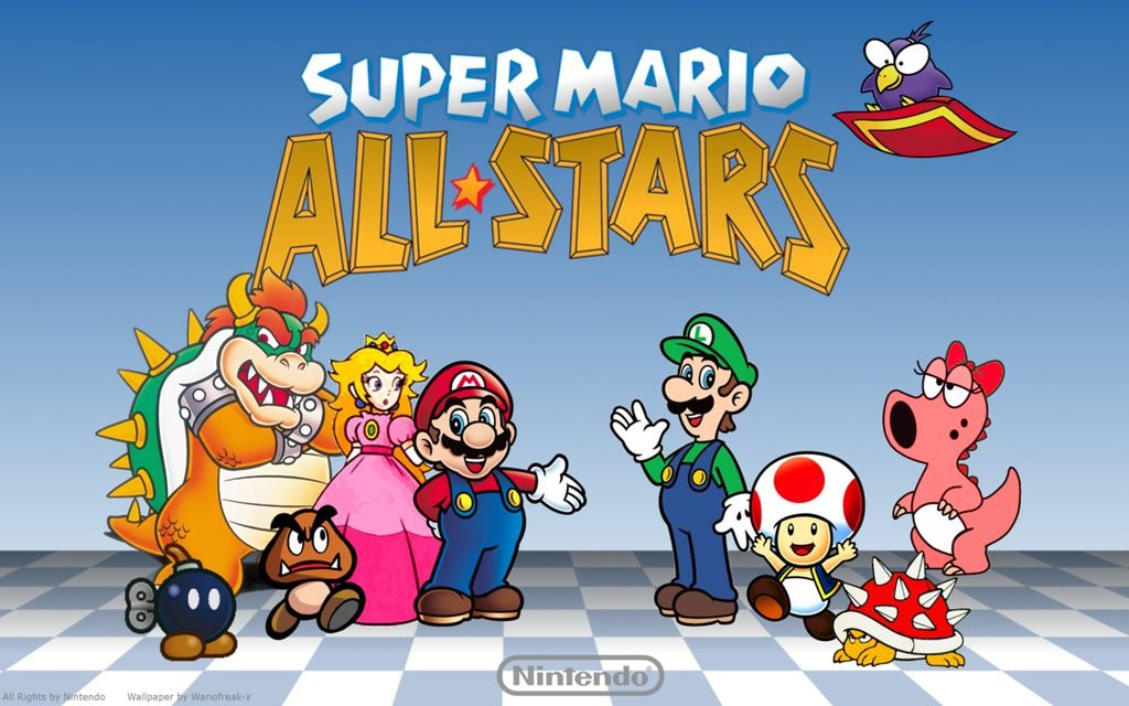 Super Mario All-Stars (USA)