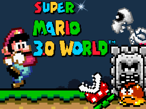 Super Mario 3.0 World v1.5