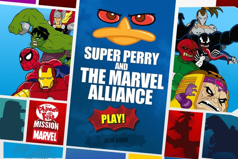 Super Perry and the Marvel Alliance