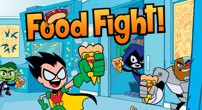 Teen Titans Go! Food Fight!