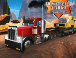 Jogar 18 Wheeler Cargo Simulator Gratis Online