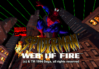 Jogar The Amazing Spider-Man – Web of Fire Gratis Online