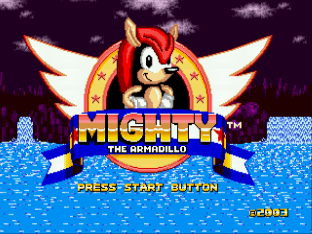 Mighty The Armadillo in Sonic the Hedgehog