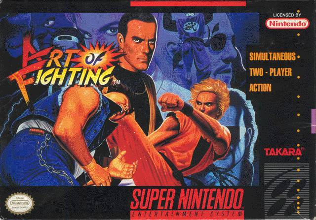 Art of Fighting ( SNES )
