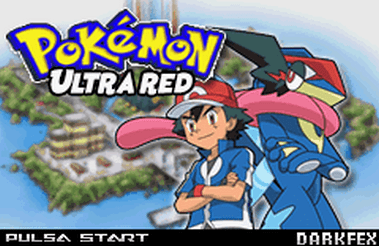 Pokemon Ultra Red Infinity (GBA)