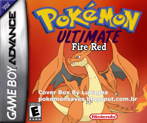 Pokemon Ultimate Mega Fire Red (GBA)