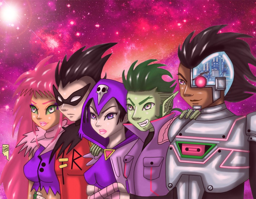 Teen Titans Go Night Begins To Shine