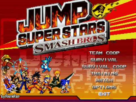 JUMP SuperStars SmashBros