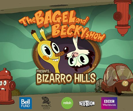 THE BEGEL AND BECKY SHOW: BIZARRO HILLS