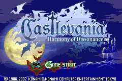 Castlevania – Harmony of Dissonance GBA