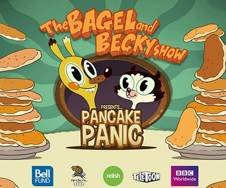 THE BAGEL AND BECKY SHOW: PANCAKE PANIC