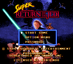 Super Star Wars – Return of the Jedi  SNES