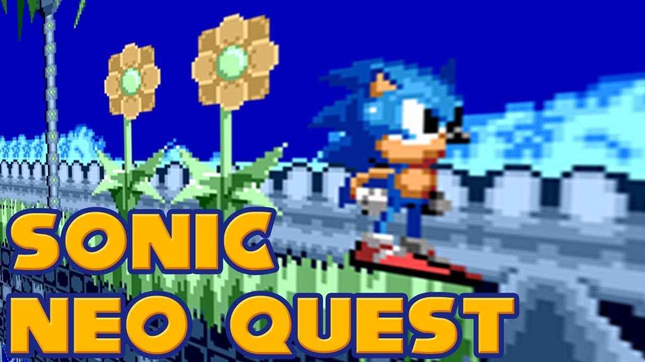 Jogar Sonic The Hedgehog: Neo Quest Gratis Online
