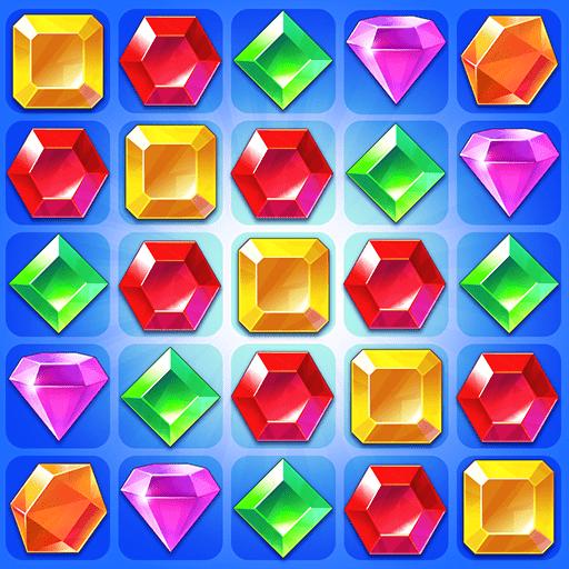 Jogar Jewel World – Match 3 Puzzles de Aventura Gratis Online