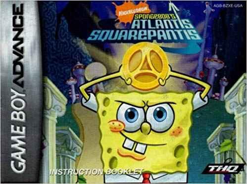 Spongebob: Atlantis Squarepantis GBA