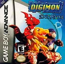 Digimon Sapphire  GBA