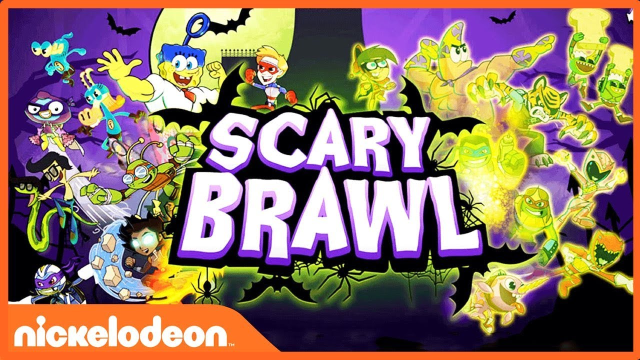 Nickelodeon Halloween Scary Brawl